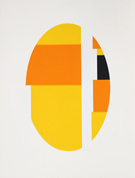Ilya Bolotowsky Series 7 Screenprint Signed And Numbered In Pencil