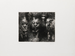 Jack Levine Sweet Bye And Bye Etching Signed And Numbered In Pencil