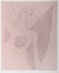 Man Ray, Natasha, Etching On Arches, Signed And Numbered In Pencil