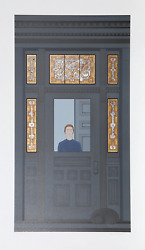 Will Barnet Doorway Color Lithograph On Arches Signed And Numbered In Pencil