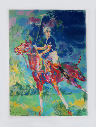 Leroy Neiman, Charles At Windsor, Screenprint, Signed And Numbered In Pen
