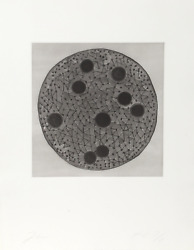 Terry Winters Untitled Etching With Aquatint Signed And Numbered In Pencil
