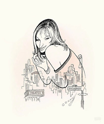 Al Hirschfeld Barbra Streisand - Back To Broadway Lithograph Signed And Numbe