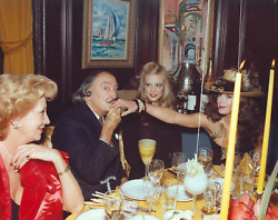 Stanley Einzig Hand Kiss Ii From Salvador Daliand039s Birthday Party Color Photogra