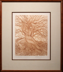 Guillaume Azoulay, Babylonica, Etching, Signed And Numbered In Pencil