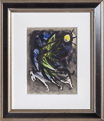Marc Chagall, The Angel, Lithograph