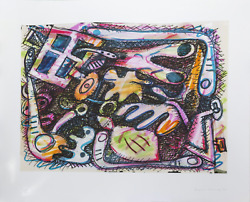 Elizabeth Murray Untitled Digital Print Signed Numbered And Dated In Pencil