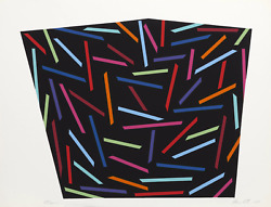 Alan Cote Trycker Screenprint Signed Numbered And Dated In Pencil
