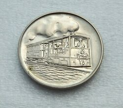 Germany Medal 75 Years Of Urban Transport Bern Silver Unc |6572