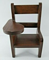 Doll Chair Old Fashioned Wood Desk 10 Fits American Girl Type Dolls Furniture