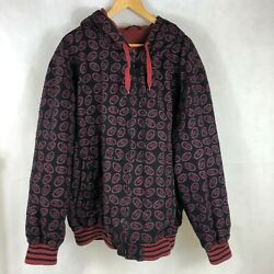 Sf 49ers Xxl Hooded Jacket Nfl Thermal Lined