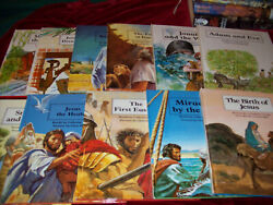 Lot 11people Of The Bible Childrens Books Hb Catherine Storr Illustrated 1983
