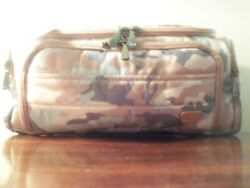 Lug Women#x27;s Trolley Cosmetic Travel Makeup Bag in #x27;Camo Rose#x27; New With Tags $49.44
