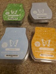 4 New Scentsy Wax Bars Best In Snow Christmas Cactus Eskimo Kiss Autumn Rd Trip