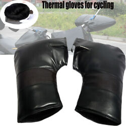 Motorcycle Glove Winter Cold-proof Warm Outdoor Riding Leather Gloves Waterproof