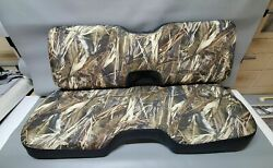 John Deere Gator Bench 550 S4 Seat Cover Xuv 550 Drt Camo And Black Or 25 Colors