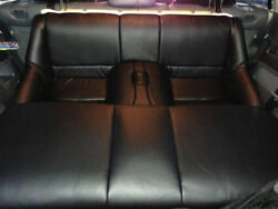 1993.5-1996 Toyota Supra Mk4 / Mkiv Replacement Rear Leather Seat Covers Black