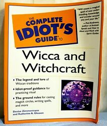 Complete Idiots Guide To Wicca And Witchcraft Denise Zimmermann Katherine Gleason