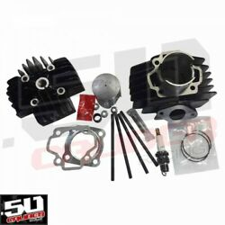 60cc Big Bore Top End Cylinder Kit With Head Yamaha Y-zinger Pee Wee Pw50 Usa