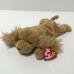Ty Beanie Baby Spunky Rare Retired 1997 Tag Errors No Stamp