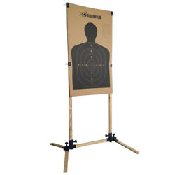 Adjustable Target Stand for Paper Silhouette Shooting Targets USPSA IDPA 1 Pack