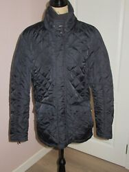 Mens Navy Quilted Jacket Size Medium From John Lewis
