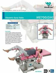 Me -700 Gh Operation Table Surgical Operating Table Gynaecology Obstertrics Df34