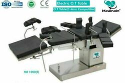 Operating Fully Electric C-arm Compatible Operation Theater Me -1000 E Table @