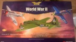 Corgi Die Cast Military Aircraft Models - Eight Army Air Force 3 Piece Set Wwii