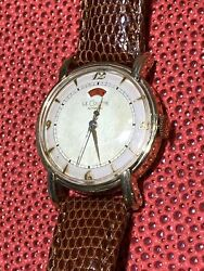 Lecoultre 33mm 10k Gold Filled Men Watch Cal.481 Bumper Auto Year 1960 Mw662