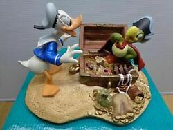 Disney Wdcc Donald Duck / Statue Finds Pirate Gold Donald And Yellow Beak