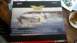Corgi Die Cast Military Aircraft Models Thunderbolt And Mustang Set Us Release