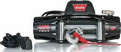 Warn 103250 Vr Evo 8 Electric 12v Dc Winch With Steel Cable Wire Rope - 8,000 Lb
