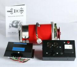 New Fabco Power Mite Belt Driven Pm-220 Generator Kit With Control Box And Pmvr-