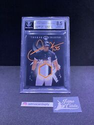 1997 Leaf Frank Thomas Collection Gu Home Jersey Patch / Awesome Card Rare