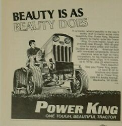1982 Power King Tractor Ad