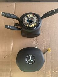 2012-2013-2014-2015 Mercedes Benz Ml350 Driver Wheel Airbag And Clock Spring