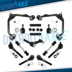 13pc Front Upper Control Arms Kit For Ford Expedition F-150 F-250 Navigator 4wd