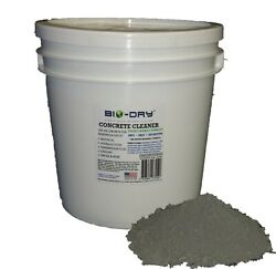 Bio-dry Patented Waterless Concrete Cleaner - Patented Bacteria Formula - 8 Lbs
