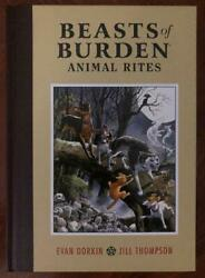 Beasts Of Burden Animal Rites 2010 - Jill Thompson Signed Hardcover - Dhc