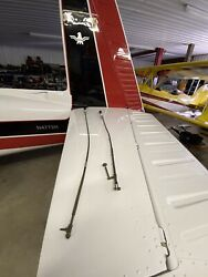 Aircraft Throttle Arens Control Cable And Prop Governor Control