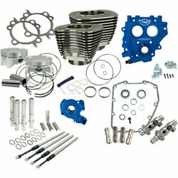 Sands Chain Drive Black 100 Big Bore Power Package Kit Harley Twin Cam 1999-2006