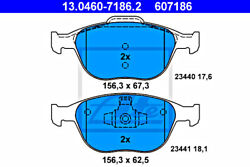 Ate Disc Brake Pad Set For Ford Fiesta V Focus Tourneo Connect Transit 4387361