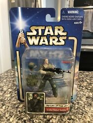 Star Wars Aotc 33 Endor Rebel Soldier Rare Without Beard Return Of The Jedi
