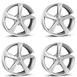 4 Borbet Wheels S 8.5x19 Et30 5x112 Sil For Bentley Continental