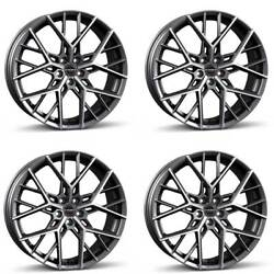 4 Borbet Wheels By 8.0x20 Et45 5x108 Titapm For Ford C-max Edge Focus Galaxy Kug