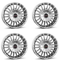 4 Borbet Wheels Cw3 9.0x21 Et38 5x130 Sil For Ssangyong Actyon