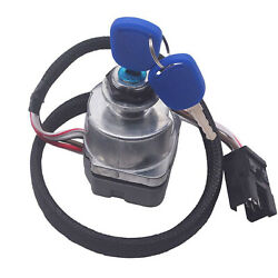 For Ford New Holland Tractor Ignition Key Switch Ts Tm Series 87561528 81864288