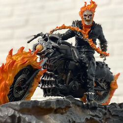 Ghost Rider 1/10 Statue Figurine Model Collection Polystone Diaplay With Box