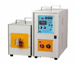 Brand New 40kw 30-100khz High Frequency Furnace Induction Heater Zn-40ab